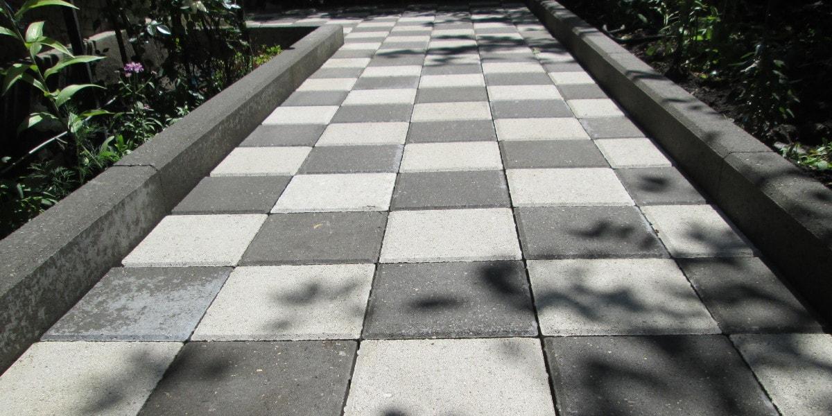 Варианты укладки тротуарной плитки   600x1200